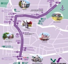 The Wimbledon Way Maps