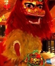 Chinese Lion Dance - Wimbledon